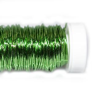 Проволока цветная зелёная, 0,5мм, 25г