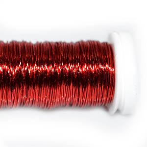 Проволока цветная красная, 0,3мм, 25г