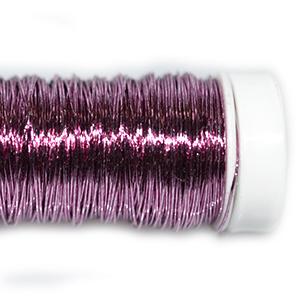 Проволока цветная розовая, 0,3 мм, 25г