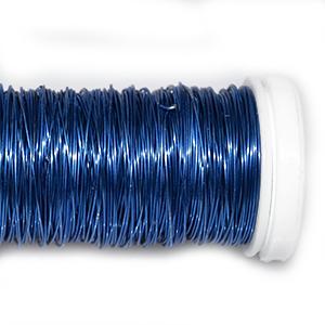 Проволока цветная синяя, 0,3 мм, 25г