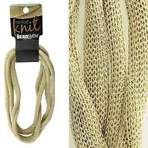 Ювелирная сетка Metallic knit gold