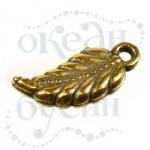 Подвеска металлизированная 2136 gold
