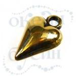 Подвеска металлизированная 2819 gold