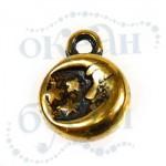 Подвеска металлизированная 2941 gold