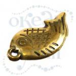 Подвеска металлизированная 3326 gold