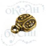 Подвеска металлизированная 3589 gold