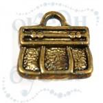 Подвеска металлизированная 3644 gold