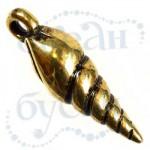 Подвеска металлизированная 3683 gold