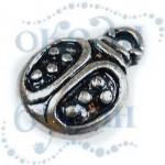 Подвеска металлизированная 3589 silver