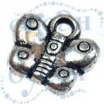 Подвеска металлизированная 3917 silver