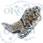 Подвеска металлизированная 4306 silver