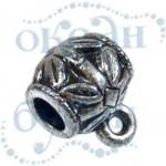 Подвеска металлизированная 3965 silver