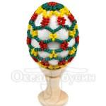 Пасхальное яйцо оплетенное 1