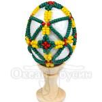 Пасхальное яйцо оплетенное 3