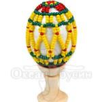Пасхальное яйцо оплетенное 4