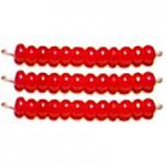 Бисер цветной алебастр 17198