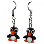 Серьги пингвины 1-5