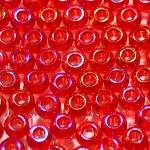 Бисер прозрачный радужный 91070