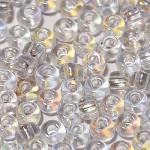 Бисер прозрачный радужный 58205