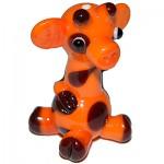 № 0342а - Бусина жираф (большой)