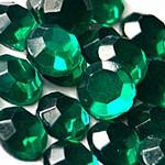 Стразы клеевые Emerald