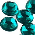 Стразы клеевые Blue Zircon
