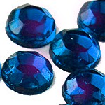 Стразы клеевые Crystal Bermuda blue