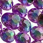 Стразы клеевые Crystal Heliotrope