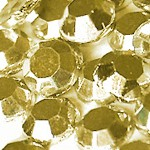 Стразы клеевые Jet Gold Aurum