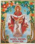 """Набор - Икона Божией Матери """"Покрова"""" К-214"""