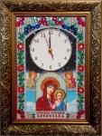 Набор часы - Казанская икона Божией матери