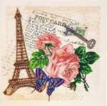 Набор - Сувенир из Парижа