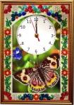Набор часы - Полет бабочки