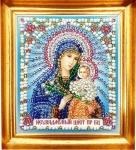 """Набор - Икона Божией Матери """"Неувядаемый цвет"""""""