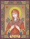 Семистельная икона Божией Матери