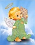 Ангелок с ракушкой