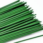 Проволока нарезанная зеленая