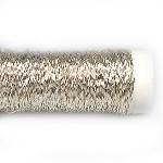 Проволока цветная бульонка серебряная