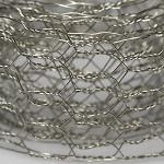 Сетка металлическая серебро