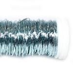 Проволока цветная голубая, 25г