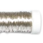 Проволока цветная серебро, 0,3 мм, 25г