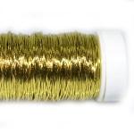 Проволока цветная золото, 25г