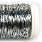 Проволока цветная серебро, 100г