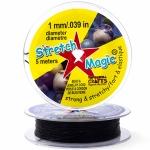 Спандекс Stretch magic cord чёрный