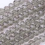 Гранёные бусины на нити R029-18A