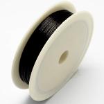 Проволока цветная чёрная, 0,3 мм