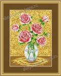 П-042 - Розы в вазе